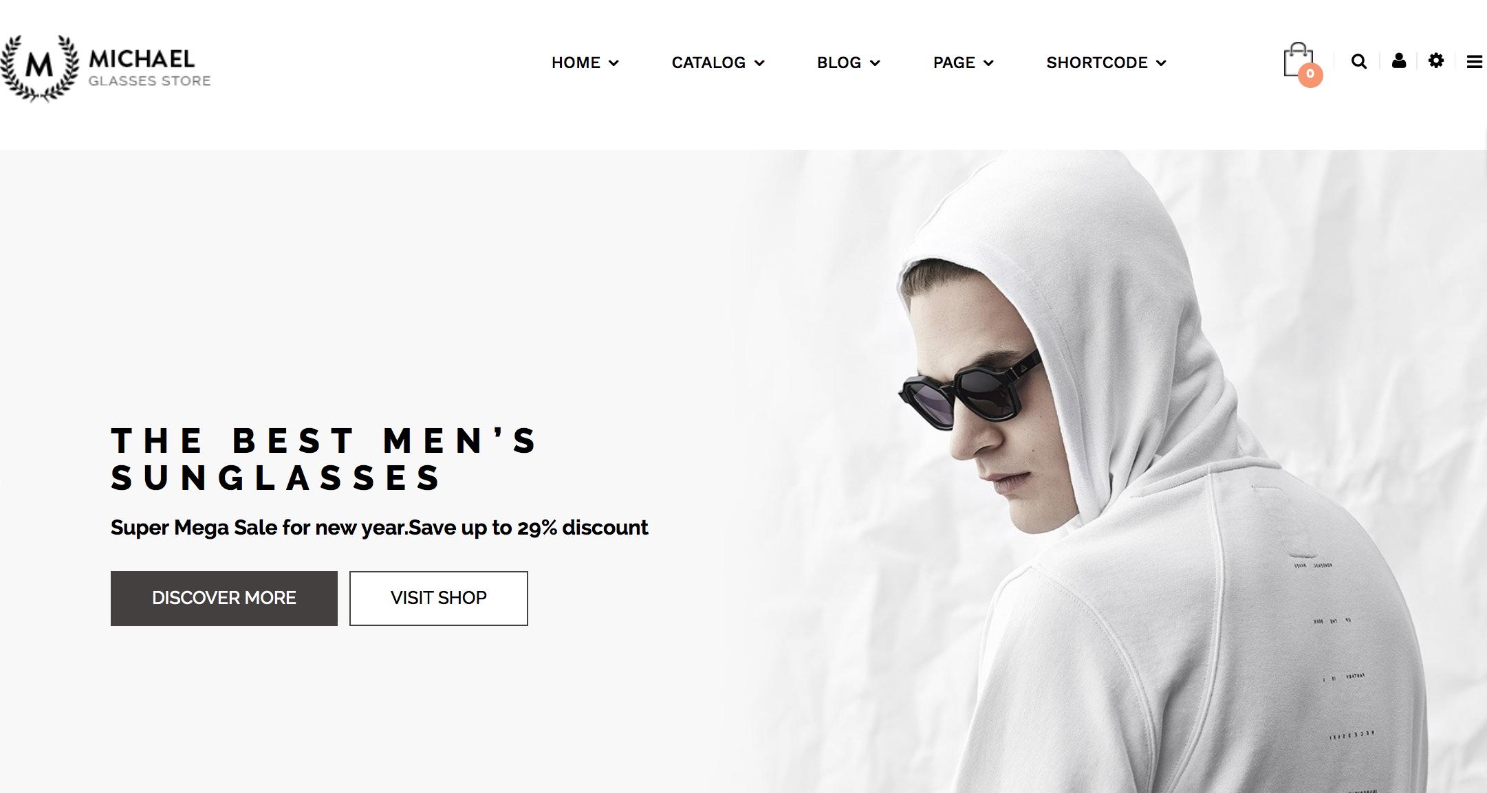 ejemplo diseño web claro
