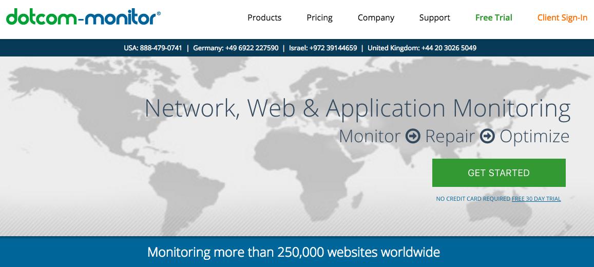 dotcom-monitor uptime monitoring tool