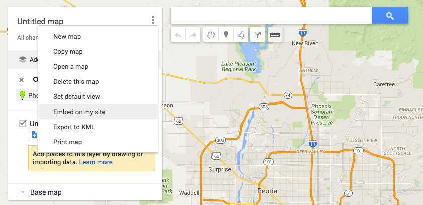 Embed Google Maps of your local business