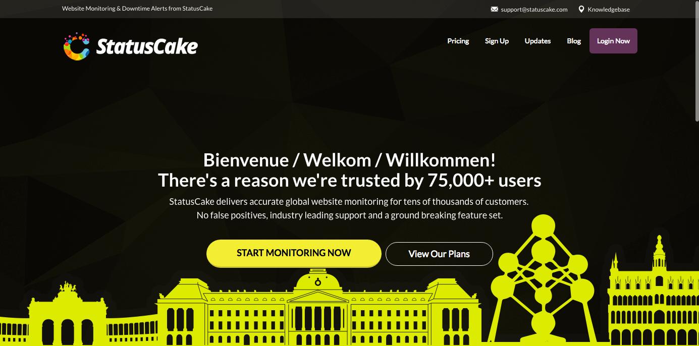 Statuscake free uptime monitoring tool