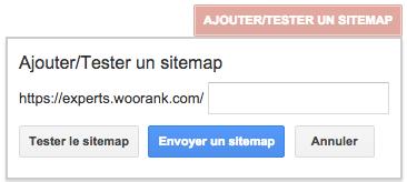 Ajouter Sitemap XML