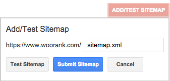 add, test and submit xml sitemap via Google Search Console
