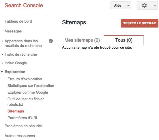 Tester votre sitemap avant de le soumettre à Google Search Console