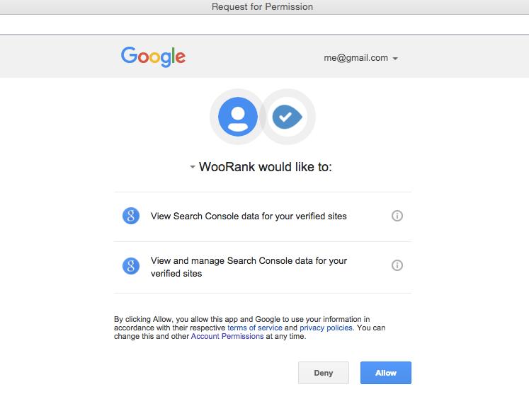 WooRank Permisions