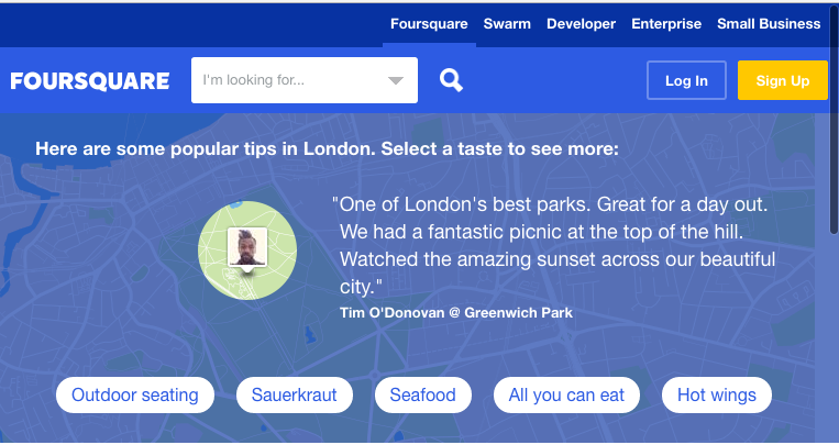 FourSquare UK Business Directory