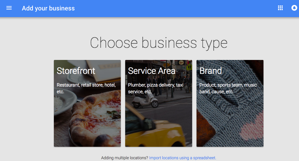 Pick a Category on Google+ for Businesses