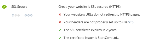 WooRank now checks to make sure that your site is running securely over https://