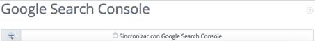 Sincroniza tu cuenta WooRank con Google Search Console