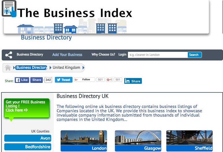 The Business Index