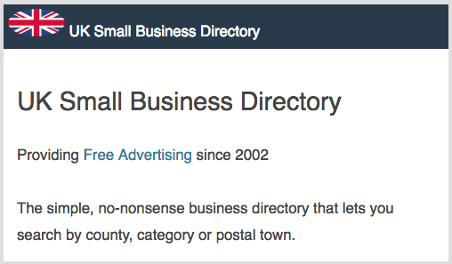 UK Business Directory for Free UK Business Listings