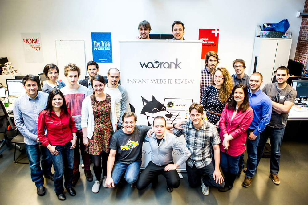 WooRank's Brussels-Based Team