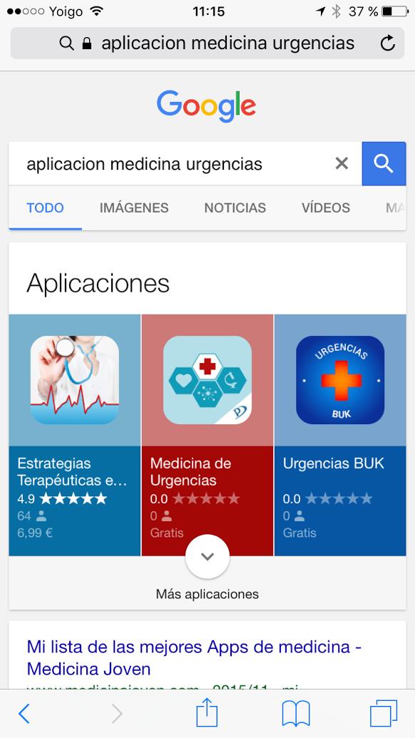 buscador apps