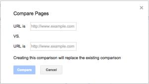 Search Analytics date range comparison