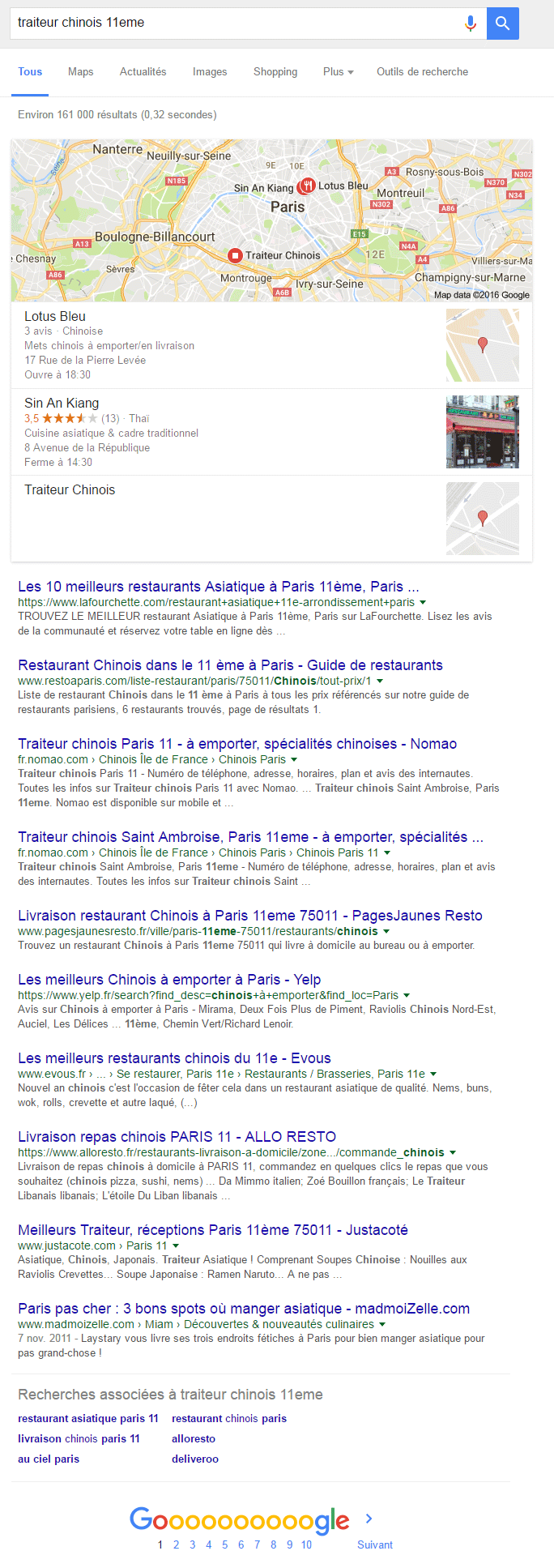 rankbrain google seo screenshot