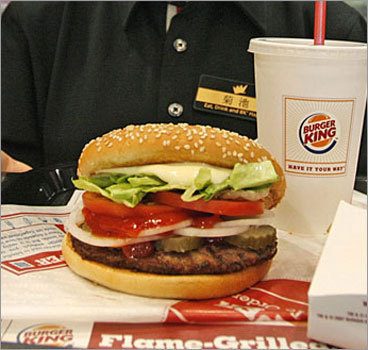 Burger King's Left handed Whopper Gag for April Fools' Day