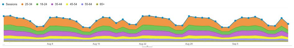 User Demographics on Google Analytics