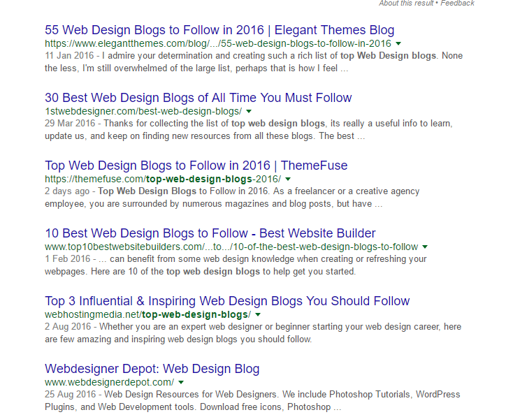 Using Google To Find Top Blogs - WooRank Blog