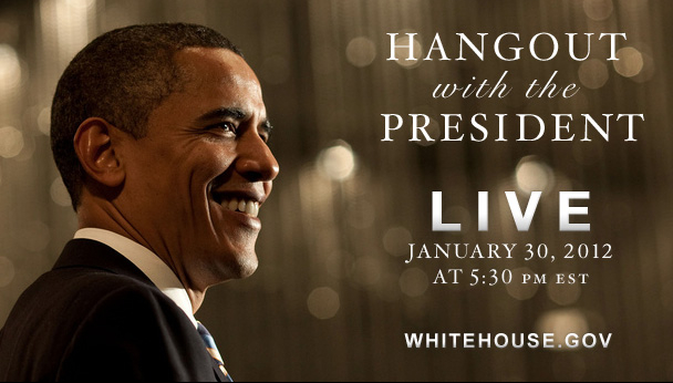 Obama Reportedly Uses Google Hangout