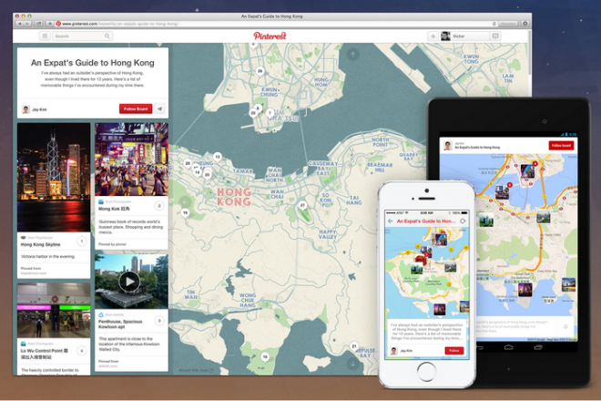 Local SEO - Place Pins Feature For Desktop And SmartPhones On Pinterest