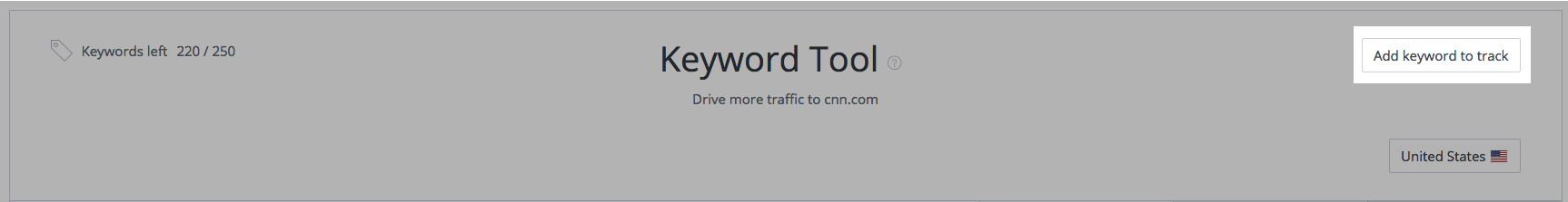 Keyword Tool - Add Keywords