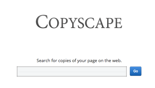 Use Copyscape to find scraped or copied pages