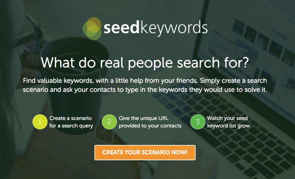 Seed Keywords screenshot