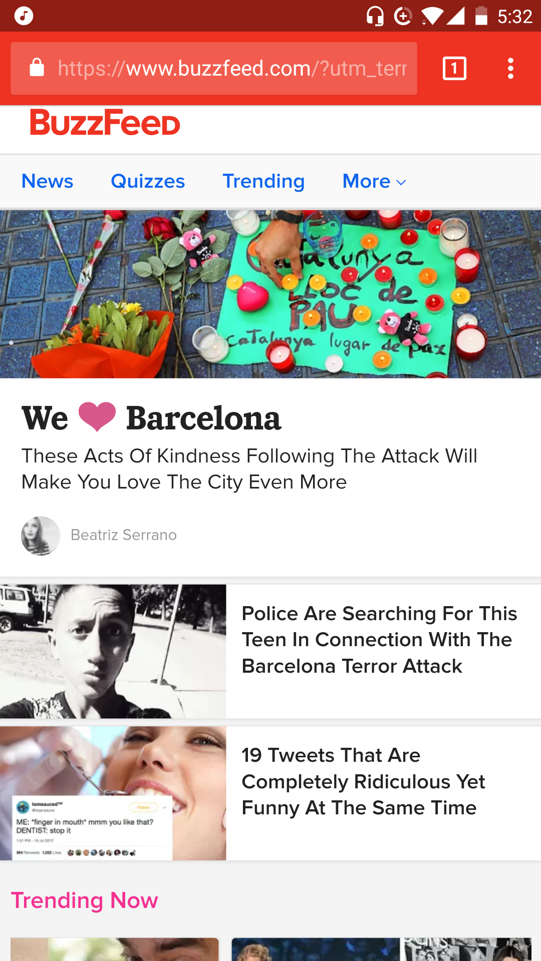 Buzzfeed's Mobile Design