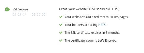 SSL Security audit criteria