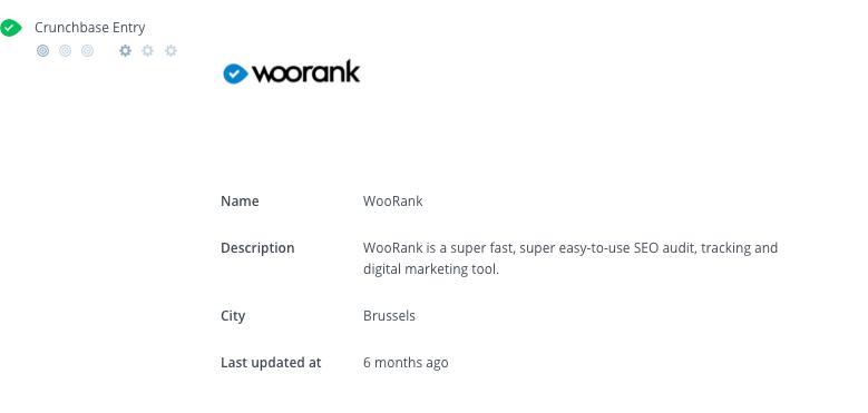 WooRank Review Crunchbase criteria