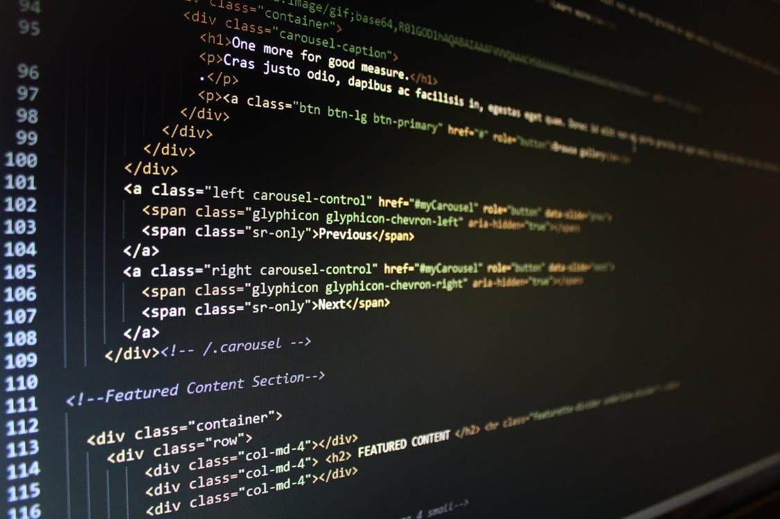 La arquitectura de la página web