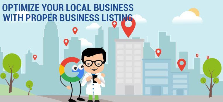 Optimize local business listings