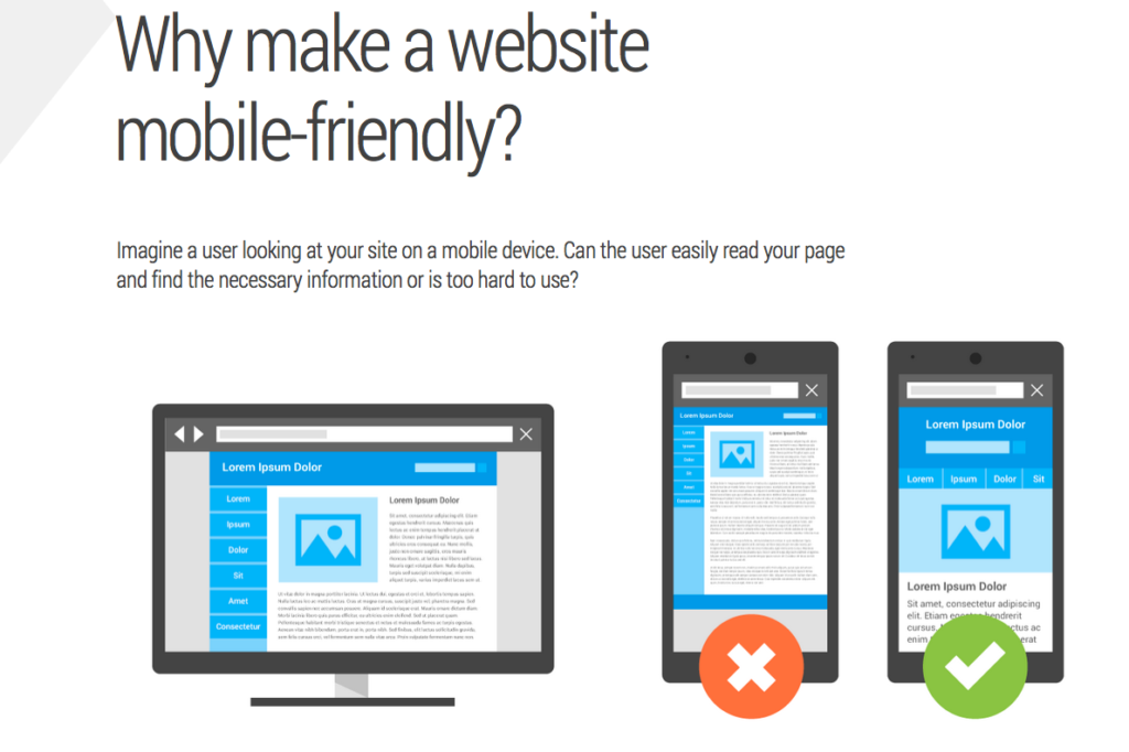 Why make your website mobile friendly