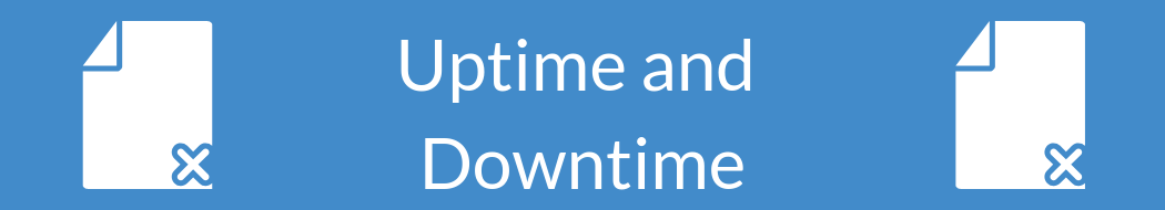 Server Uptime and Downtime