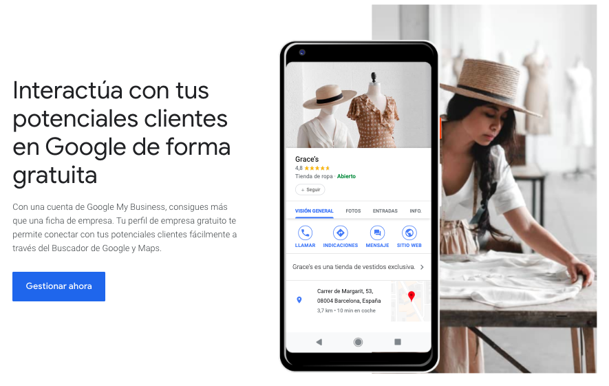 Google My Business Spain
