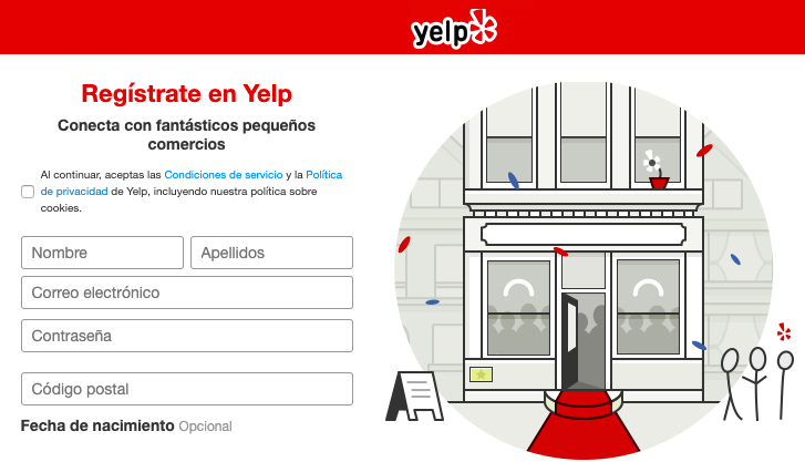 Yelp.es for Spanish Local Businesses