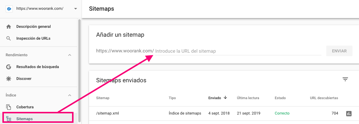 Add & Test XML Sitemap - Google Search Console