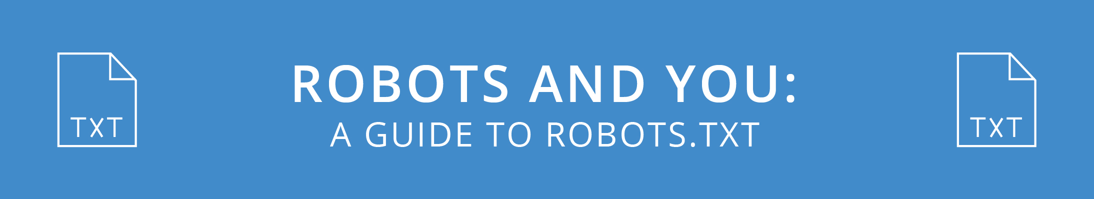 Robots and You: A Guide to Robots.txt