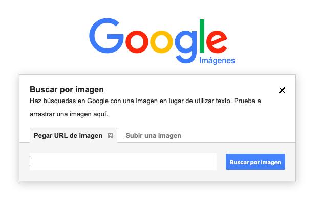 Búsqueda inversa de google imágenes