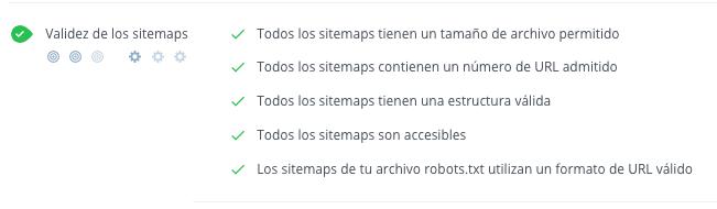 sintaxis y estructura de sitemap validas woorank