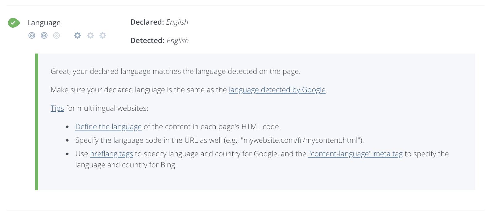 Language Declaration Checker