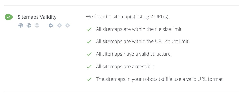 XML Sitemap Checker