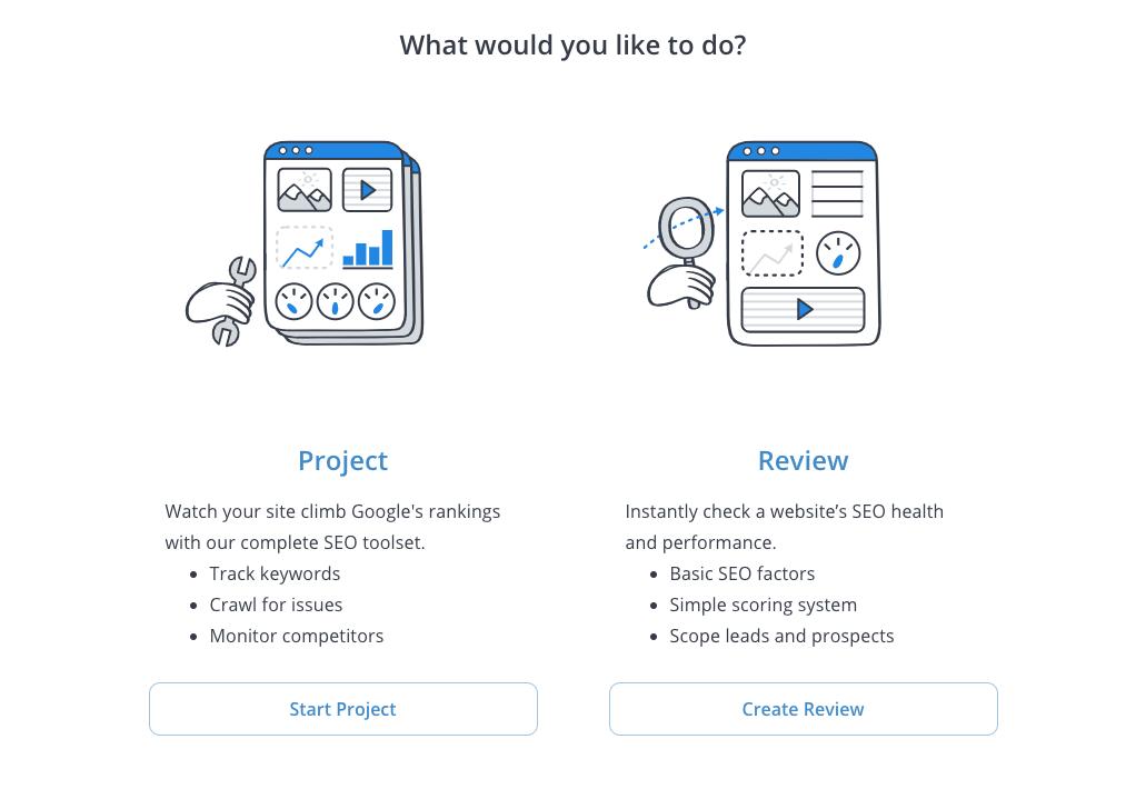 WooRank website audits review flow
