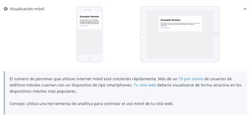 Compatibilidad con dispositivos móviles de WooRank