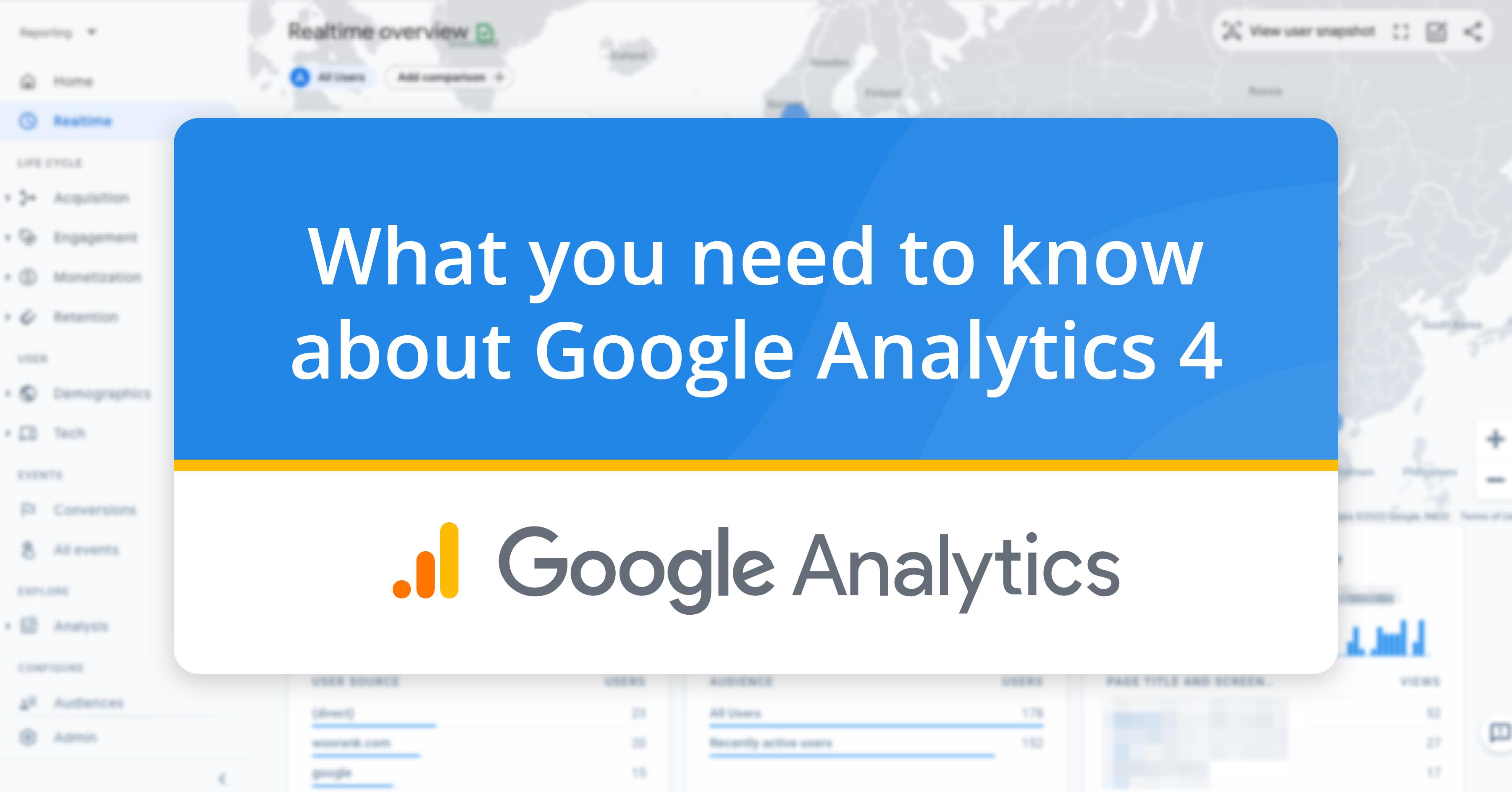 Introducción a Google Analytics 4