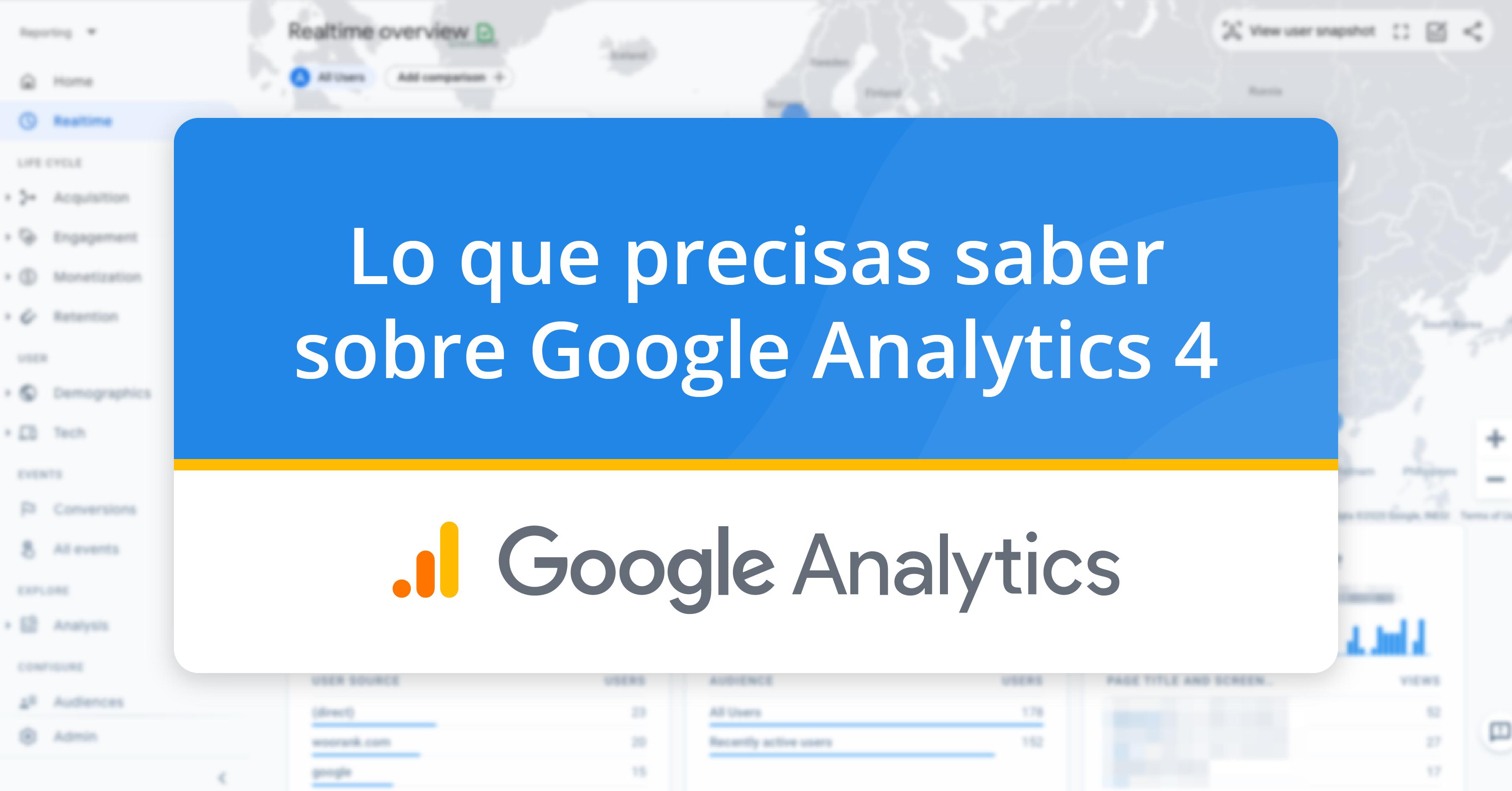 Lo que sabemos sobre Google Analytics 4