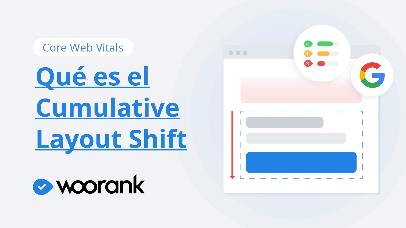 Core Web Vitals: ¿Qué es el Cumulative Layout Shift?