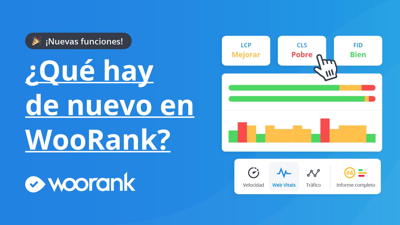 ¿Qué hay de nuevo en WooRank? ¡Funciones, contenido y más!