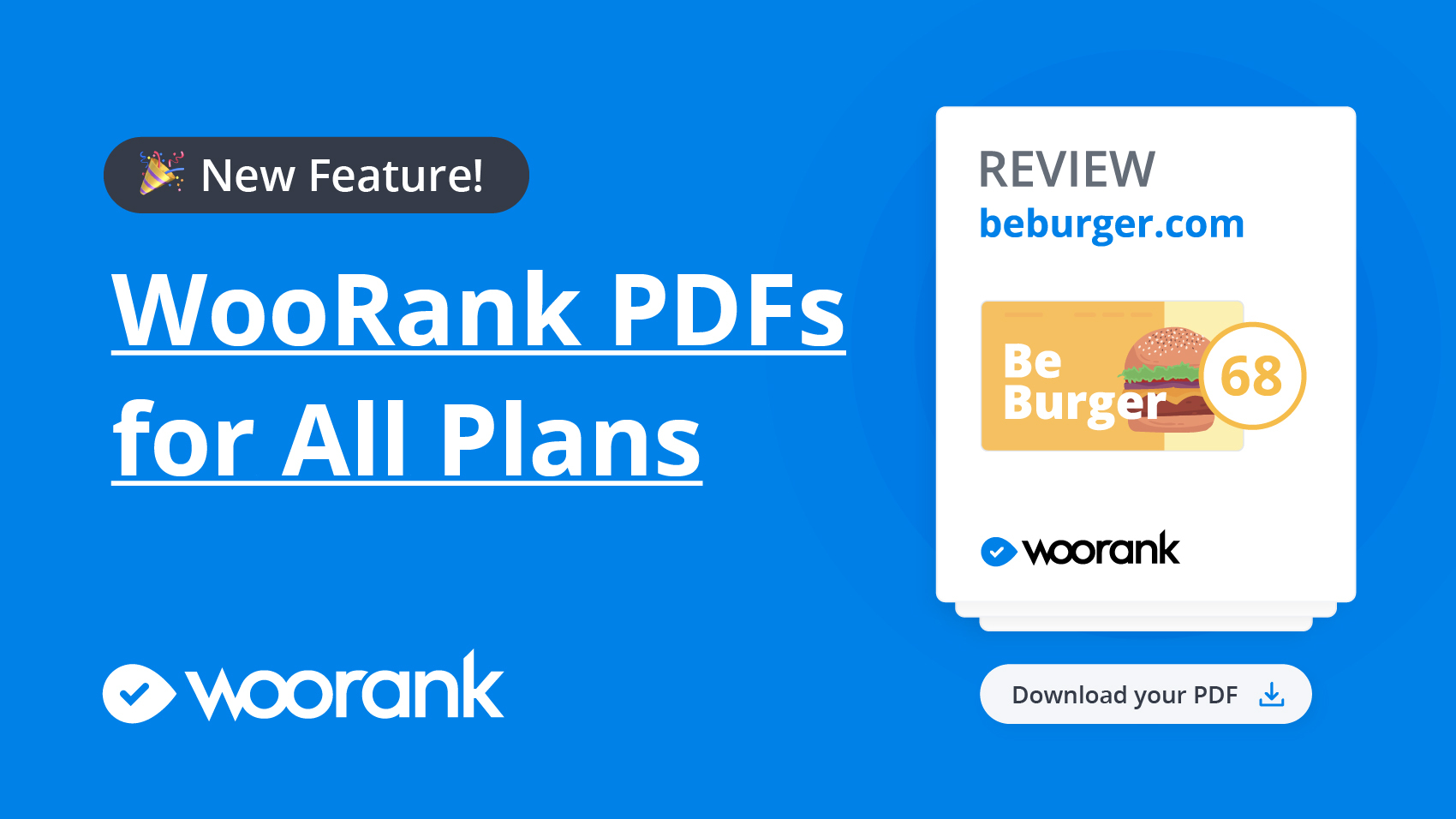 WooRank PDF Templates available to all users