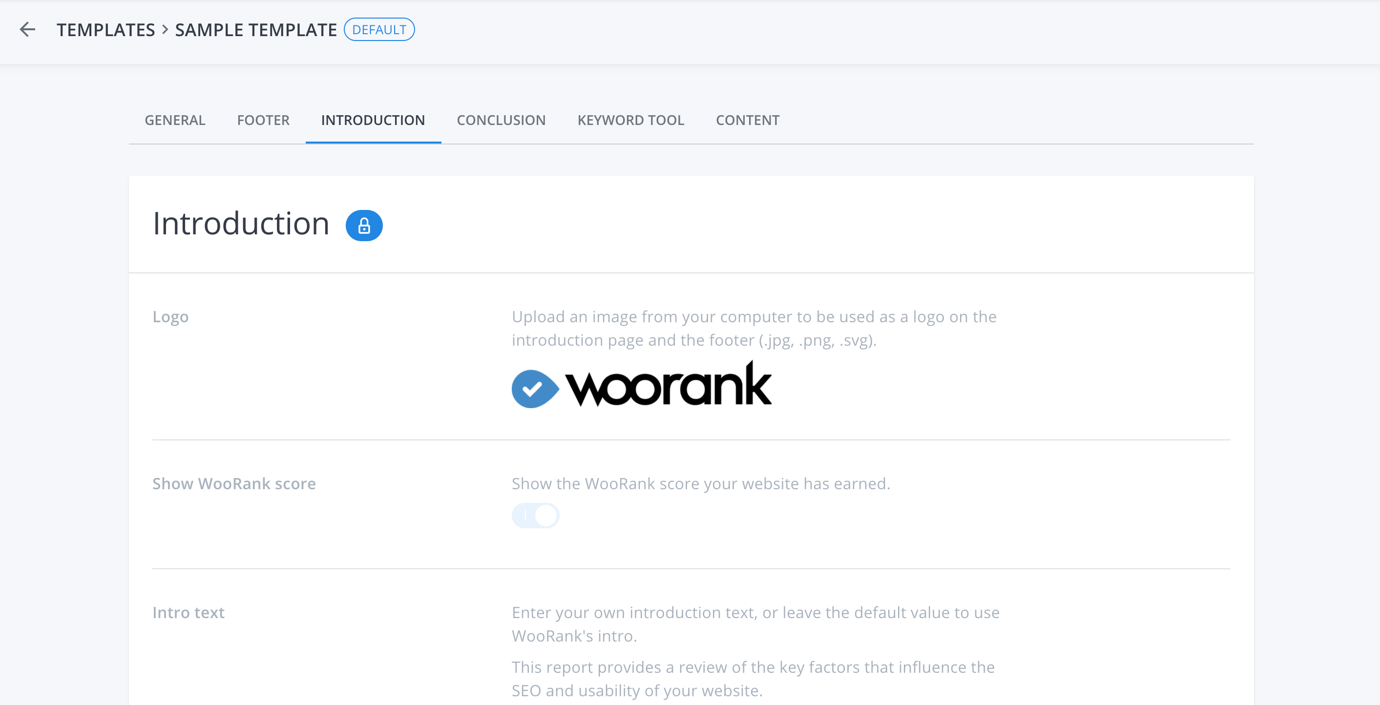 WooRank PDF Reports for Pro