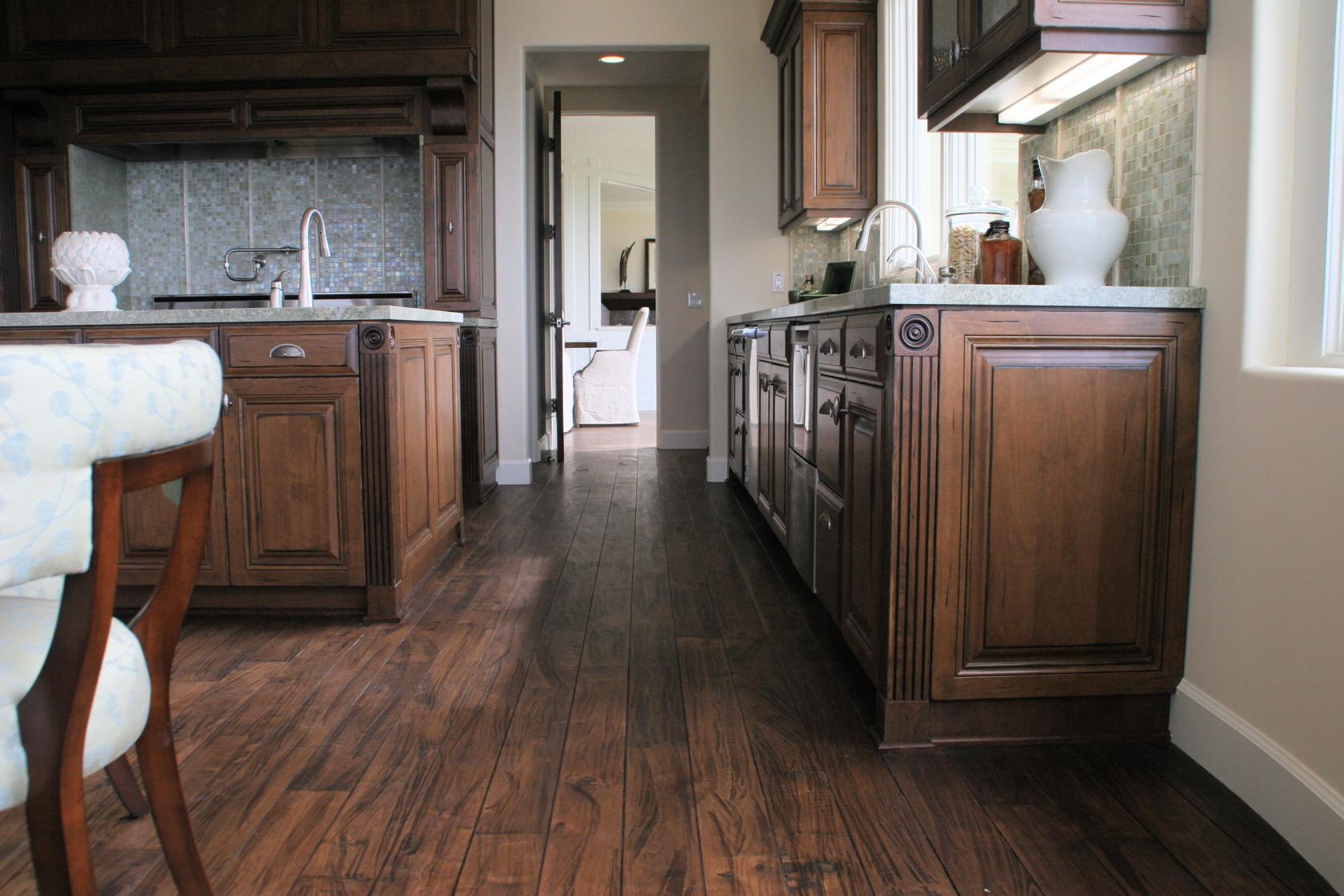 American black walnut flooring wood floors augusta for Black walnut kitchen cabinets